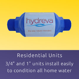 residential structured water unit