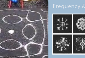 electromagnetic frequency and water geometry