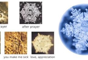 water crystal geometry