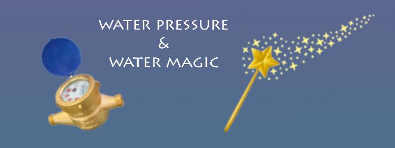 residential water line pressure